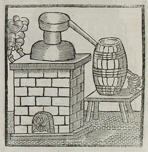 Foto 2 - aparato para destilar