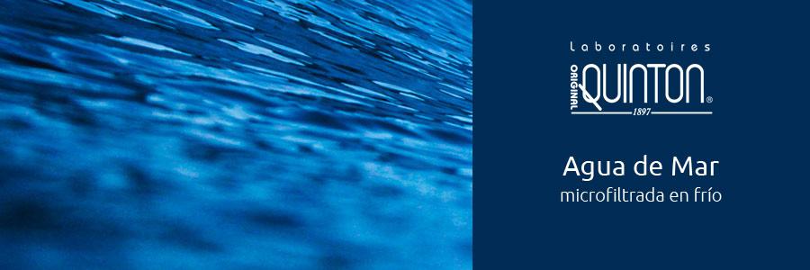 agua de mar microfiltrada en frío