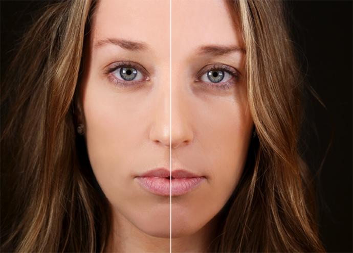 comparativa de los efectos del pilates facial