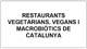 restaurants vegetarians, vegans i macrobiótics de catalunya