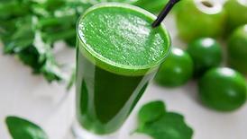 zumo verde muy completo