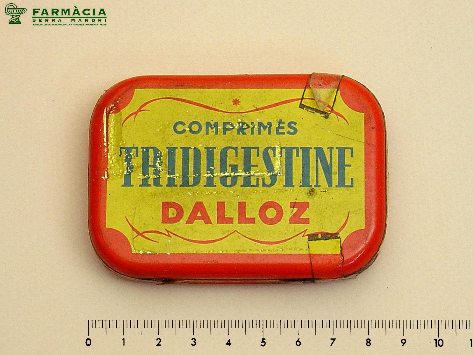Caja del medicamento Tridigestine
