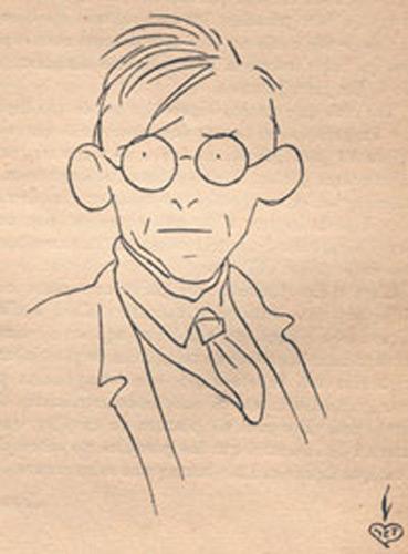 retrat en dibuix de Joan García Junceda i Supervia