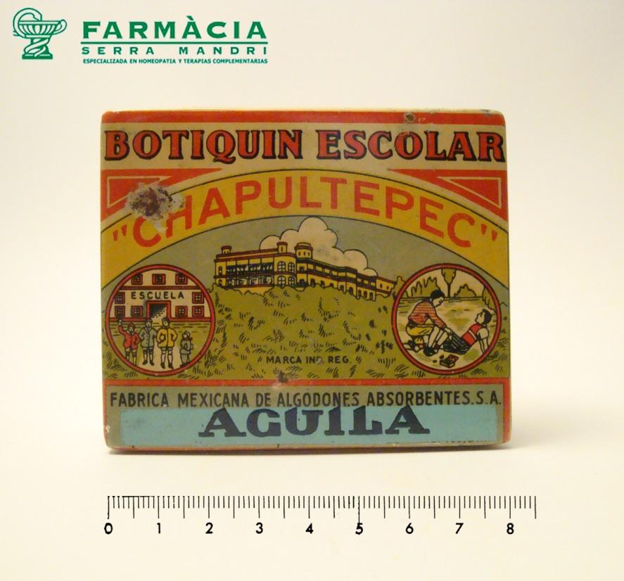 caja del botiquín chapultepec