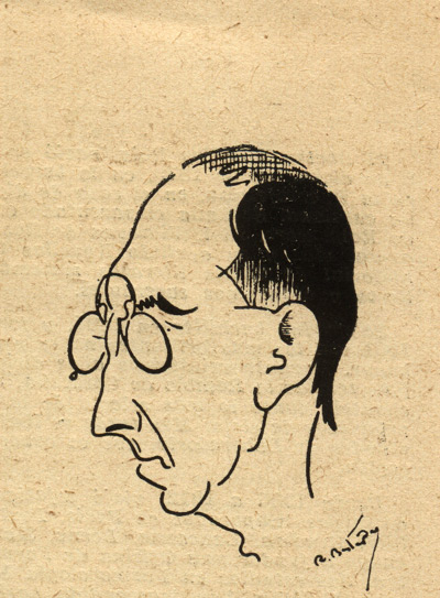 caricatura del dr antoni novellas