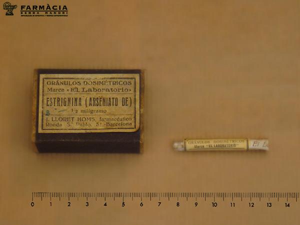 arseniato de estrignina lloret homs