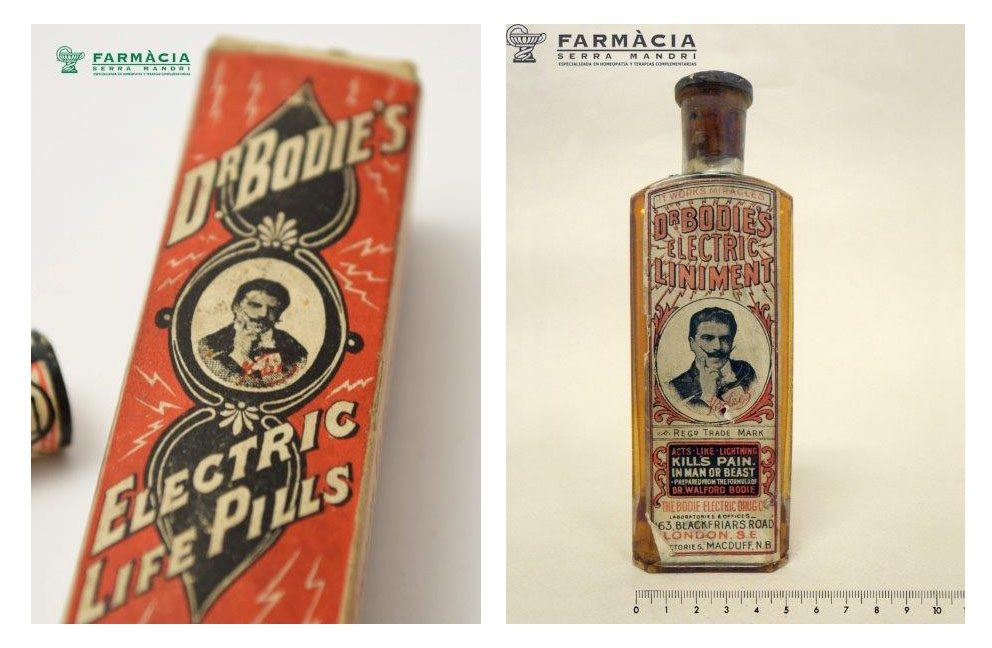 Dr Bodie Electric pills and liniment