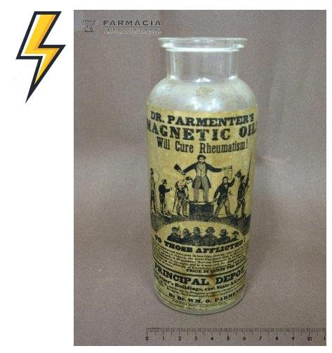 Dr Parmenter's magnetic oil
