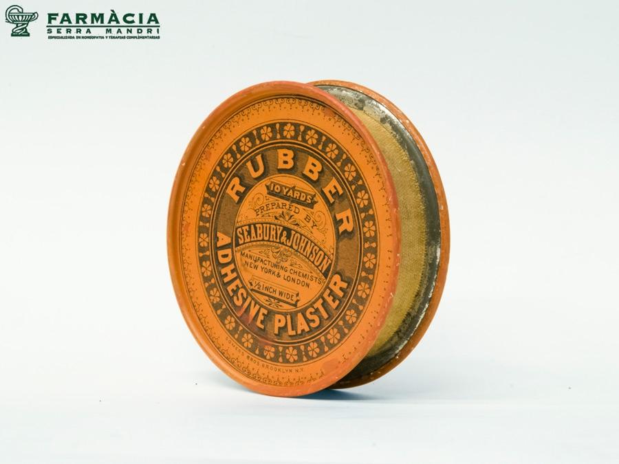 Envase de medicamento antiguo fabricado por Somers Bros