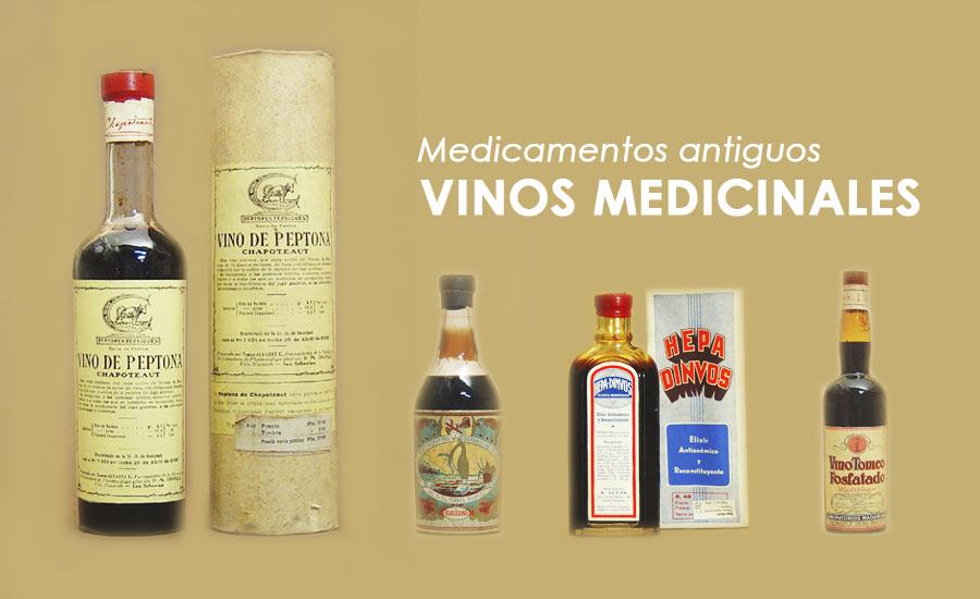 Medicamentos antiguos: Vinos medicinales