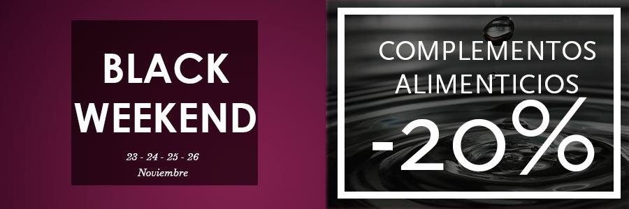 black weekend descuentos complementos