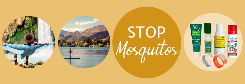 repelentes de mosquitos y calmantes para las picaduras