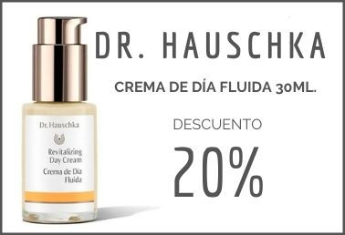Dr. Hauschka crema de dia fluida 20% de descuento