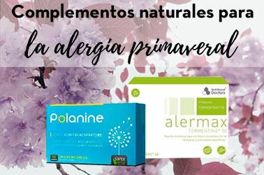 complementos alimenticios naturales para la alergia primaveral