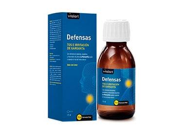 vitalart defensas jarabe para la tos y la garganta