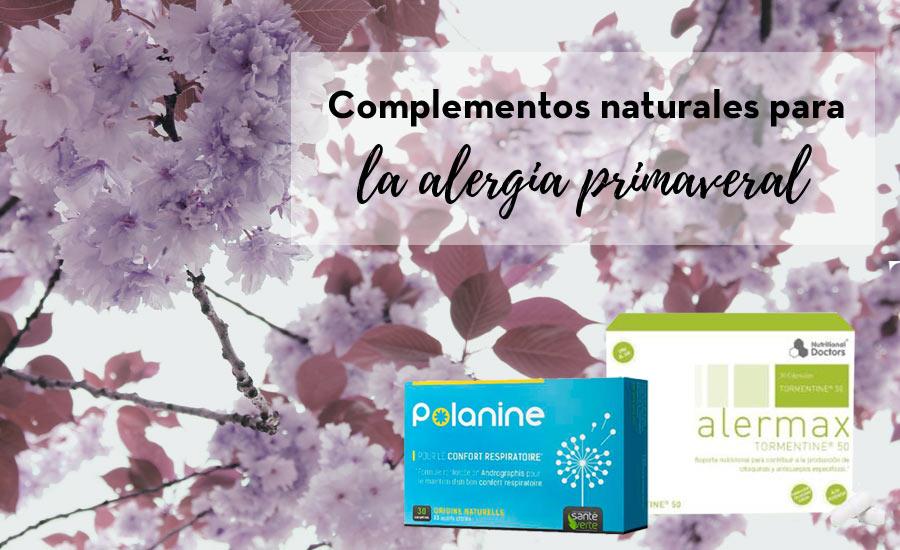 Complementos naturales para la alergia primaveral
